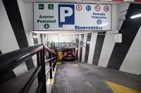 Parking Goya 115-Acceso