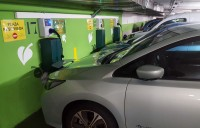 Parking carga coches electricos Madrid